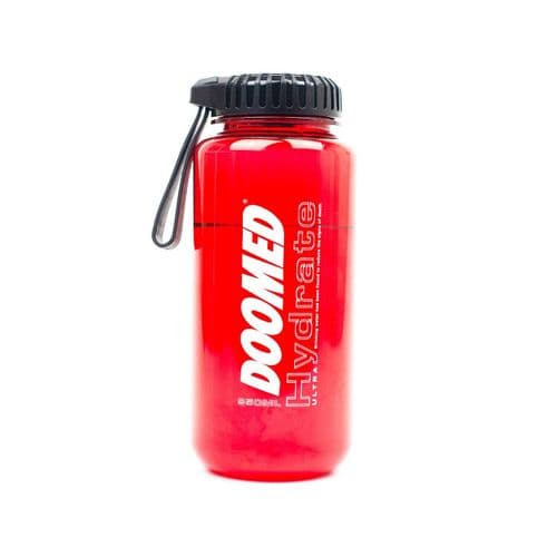 Doomed Hydrate Bottle Red